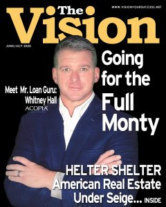 Cover The Vision magazine